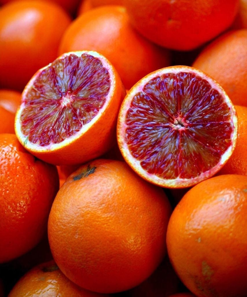 Sicilian Blood Oranges Mt Etna