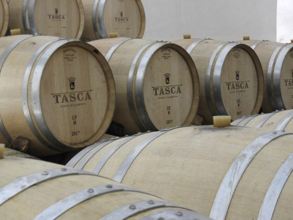 Wine Regions of Sicily. Tasca's Tenuta Regaleali.